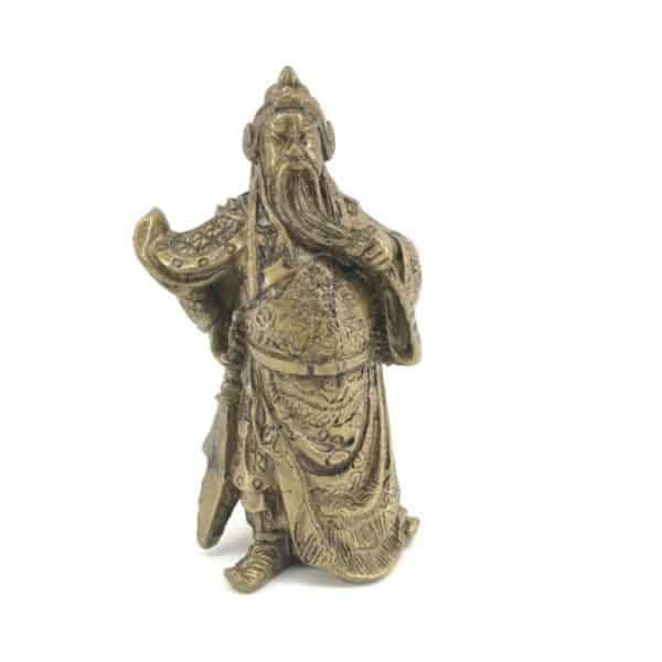 Kovová soška Kwan Kung - mocný ochránce práva a spravedlnosti - Feng shui
