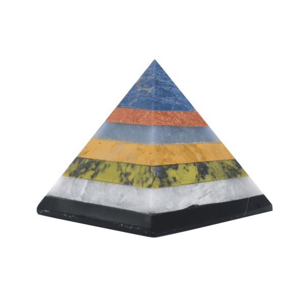 Milujeme Kameny - pyramida - mix minerálů