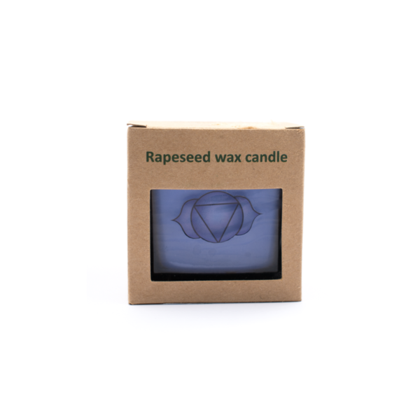Milujeme Kameny - čakrová svíčka 6. čakra