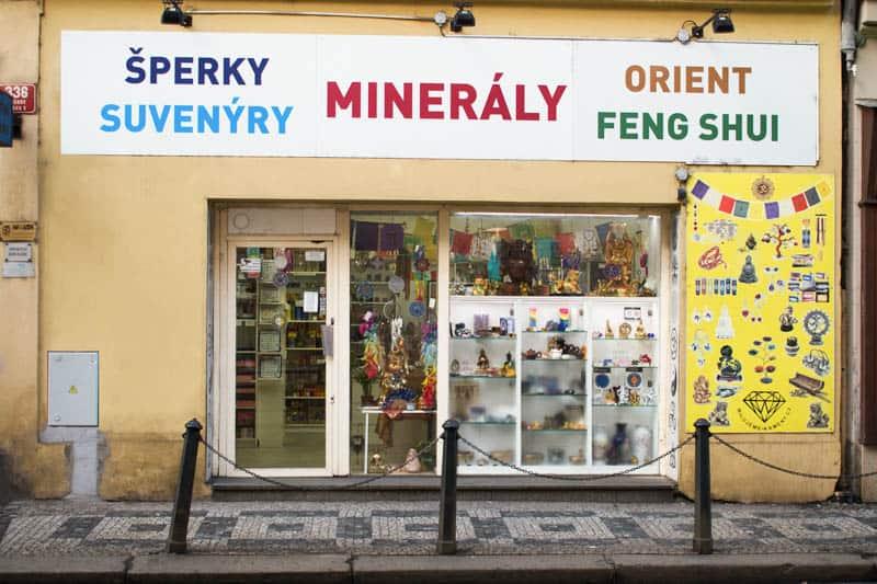Milujeme Kameny.cz - prodejna Lidická 28, Praha 5