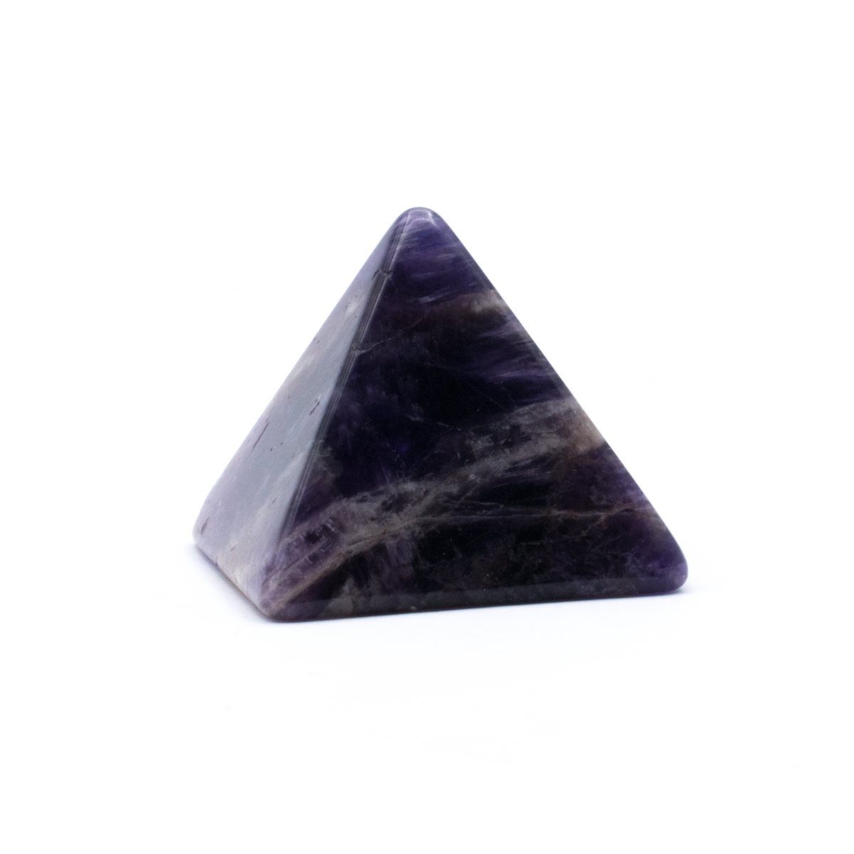 Milujeme Kameny - ametyst tromlovaný kámen - pyramida