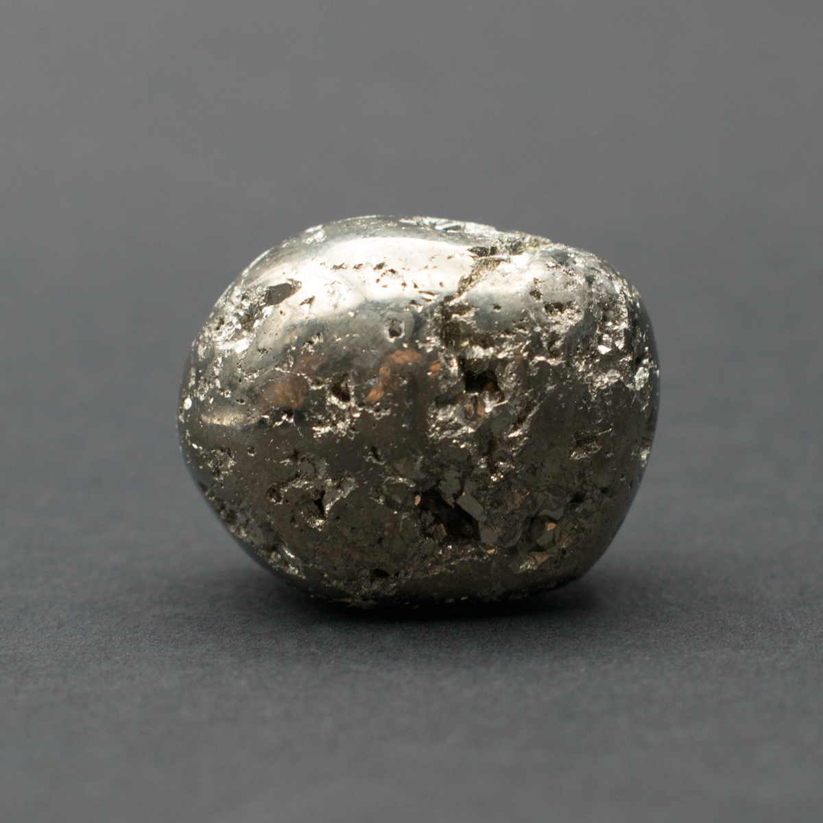Milujeme Kameny - pyrit tromlovaný kámen