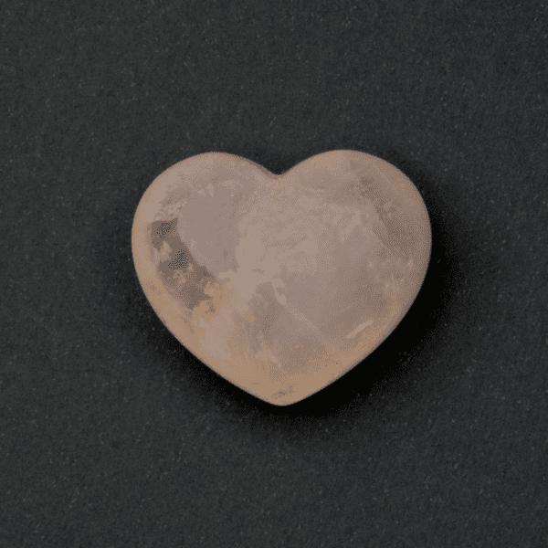 Milujeme Kameny - ruzenin tromlovaný kámen - srdce